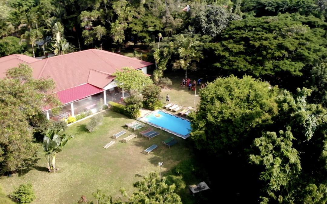 Rundvisning i Try Medics huset på Zanzibar