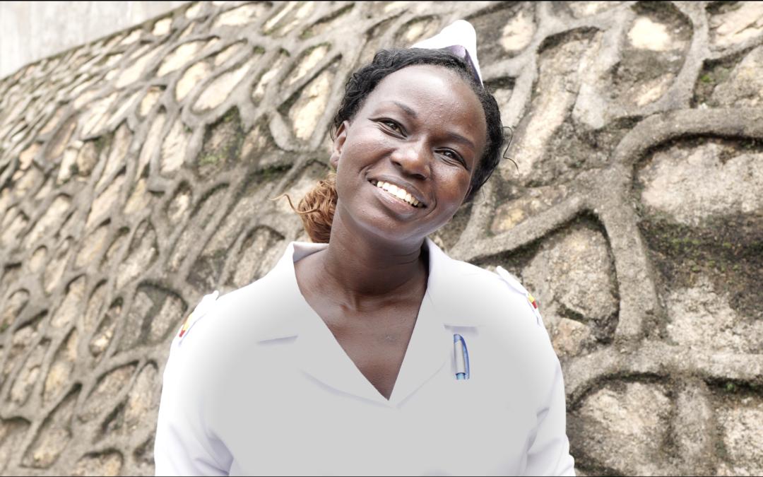 Mød en af sygeplejerskerne, du kan følge i Uganda